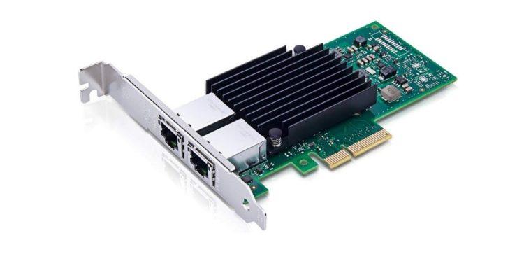 10Gbpsに対応したLANカードが必要